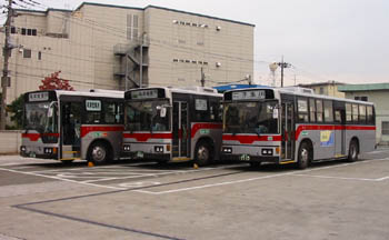 東急バス高津営業所の部屋