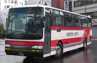 北海道中央バス 都市間バス車輌