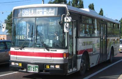 北海道中央バス 日産車